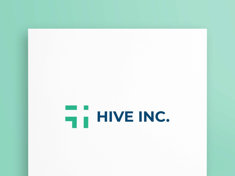 HIVE INC. logotypes bussienss design grapgicsdesign marketing bussiness branding logotype logodesign