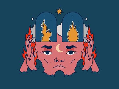 Naomi Banks sticker vector design illustration