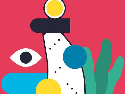 Barcelona Es Color icon flat vector illustration design