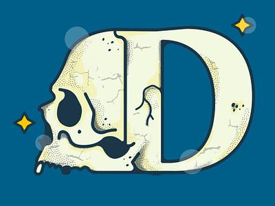 Death 36dayoftype icon branding illustration sticker vector