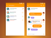 Chat & share  with local users