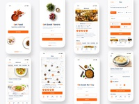 Food Delivery App. UI/UX Design