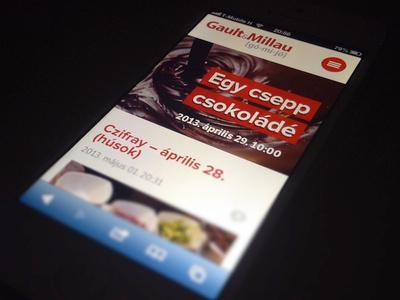 Gault&Millau.hu on iPhone gaultmillau hungary iphone