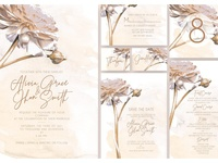 Golden Flower Wedding Suite Ac.47