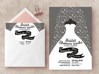 Bridal Shower Invite Templates