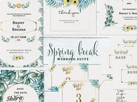Spring Break Wedding Suite
