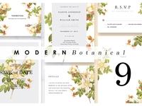 Modern Botanical - Wedd.Suite Ac.90