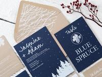 Winter Wonderland Wedding Suite