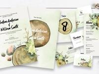 Wood Slices Wedding Suite Ac.108