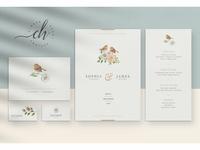 Beryl • Wedding Invitation Suite