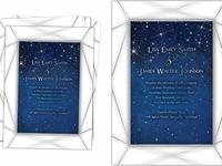 Starry Night Wedding Invite