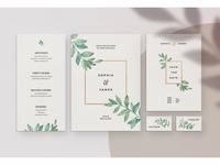 Agate • Wedding Invitation Suite
