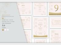 Wedding Invitation Suite - Belleza