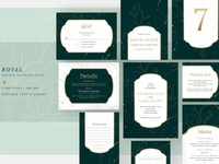 Wedding Invitation Suite - Royal