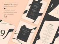 Wedding Suite - Trendy Marble