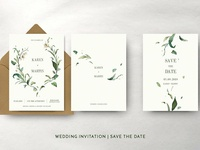 Green Foliage Wedding Suite
