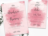 Wedding Invitation Suite vol. 01