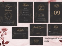 Wedding Invitation Suite vol. 02