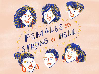 International Women's Day drawing character design illustration kimmy schmidt girl women international womens day