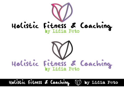 Fitness Coach Logo branding fitness center designer logo coaching fitness logo