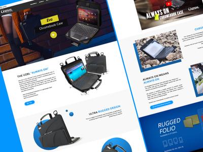 Marketplace Design prototype cases e commerce clean web interactive responsive design ui ux