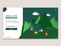 Hiking Tours Landing Page