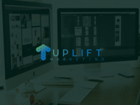 Uplift Marketing Logo Concept