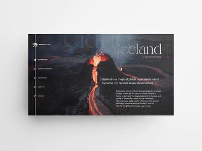 Wanderlusters – Travel agency (website & mobile) ux design ui design uxui travel agency travel motion design scrolling animation scroll design animation minimal clean
