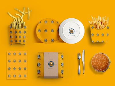 second  Intro product design adobephotoshop adobeillustator art direction grapic design font burger fast food logo branding brand