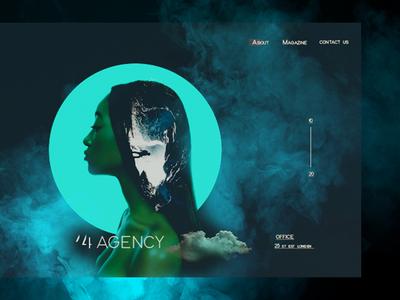 UI 14Agency adobe xd branding adobephotoshop web design web double exposure ui design ux art direction ui design