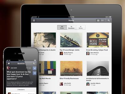 Bloomfire Universal iOS App