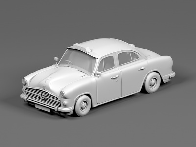 Taxi Clay Render web icon taxi toy vehicles maxonc4d illustration modelling animation design india cinema 4d behance 3d 3d animation