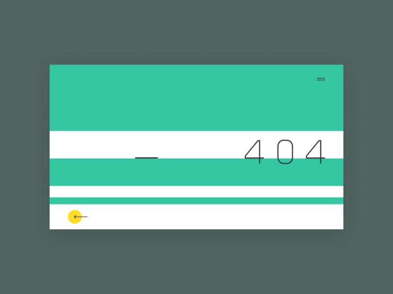 404_contest_13_11_18 minimalism design ui error page 404 page