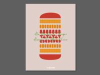 Brand Design : 8te Burger