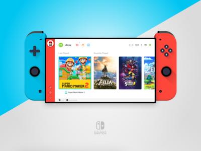 Nintendo Switch Redesign