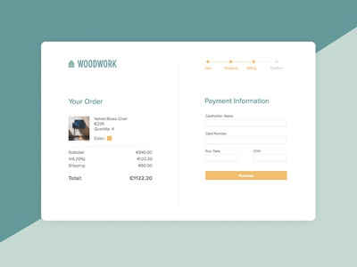 DailyUI #2 - Checkout Page