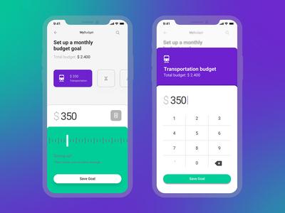 Daily UI 004 - Budget Calculator