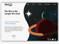 Boundless Design Landing Page