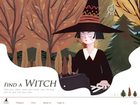find a witch