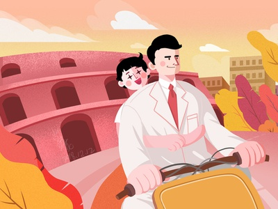 罗马假日 illustration