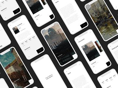 Ins-Art design typography design inspiration design art ui webdesign uxui painting venice minimal app design