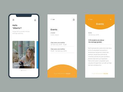 Fullbloom App app design typography ui ux designinspirations minimal