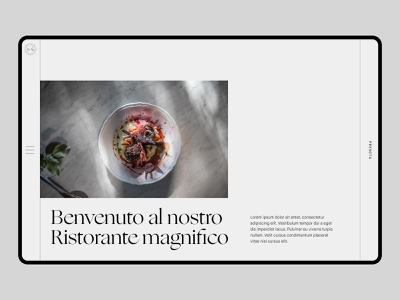 AL4 Pizzeria follow me ux design design branding ux web ui designinspirations typography minimal