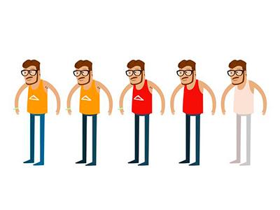 Character design  illustration flat art animaiton cartoon character design