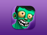 iOS Icon - Fast Zombies Game