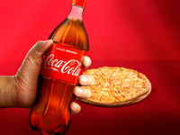 Pizza and coke?