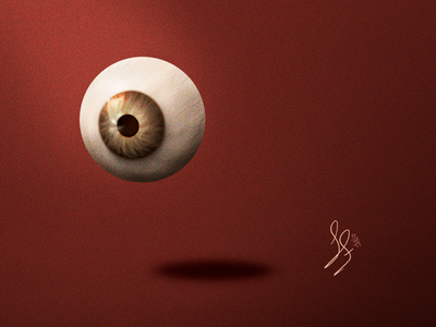 Green Eye - Digital illustration
