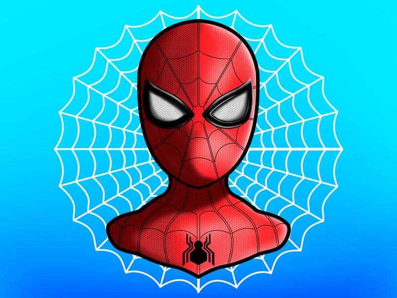 Spider Man Logo By Vadim Kapotin Dribbble Dribbble