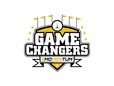 Perfecting Mens Retreat branding church sports logo