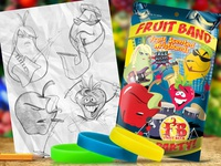 Fruit Band - Fruit Scented Wristbands Package Design